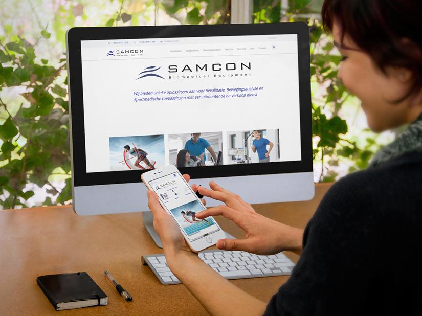 Samcon (Kentico CMS + Zoho CRM, Desk, Books, Forms)